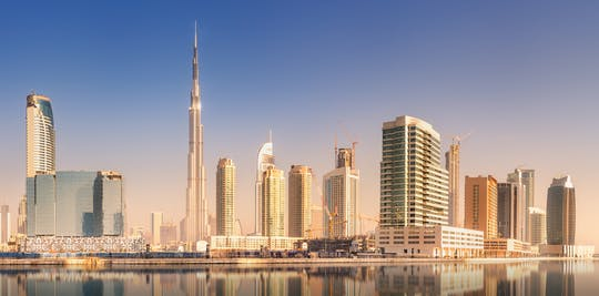 Bilhete Burj Khalifa com transfer privado unidirecional
