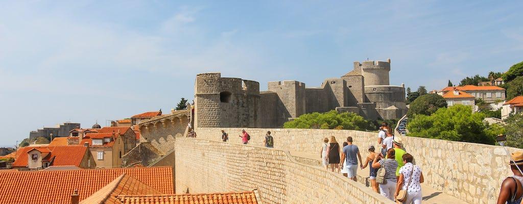 Wandeltocht met gids door de stadsmuren van Dubrovnik