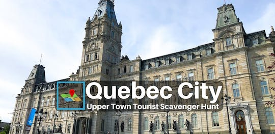 Quebec City Upper Town Tourist Scavenger Hunt