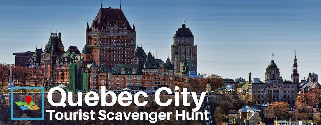 Quebec City Tourist Scavenger Hunt