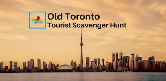 Polowanie na starego Toronto turystycznego