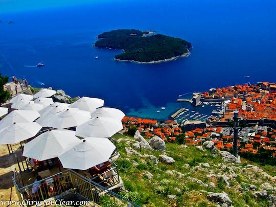 Tour della città vecchia di Dubrovnik con giro in funivia