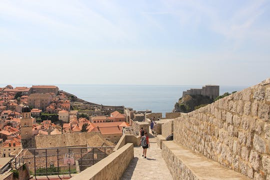 Tour a pé de Game of Thrones por Dubrovnik