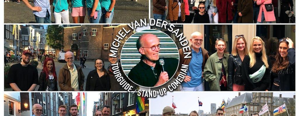 Tour pela cidade de Rotterdam com guias de comédia