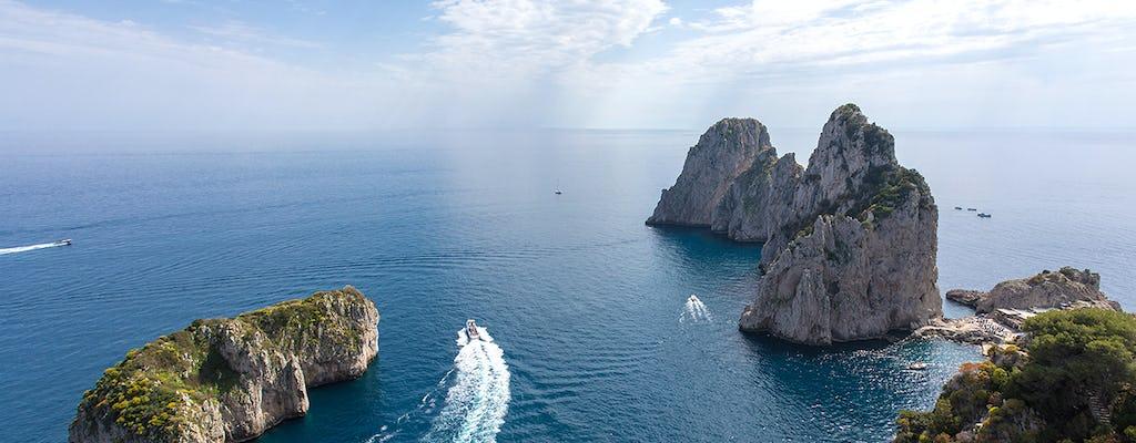 Private Capri-Bootsfahrt ab Praiano