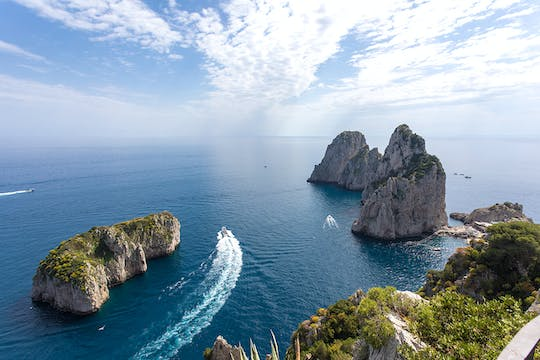 Private Capri boat cruise from Praiano