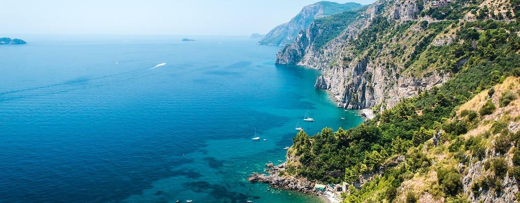 Boottocht langs de zeegrotten van de Amalfikust