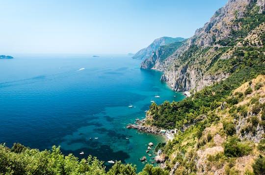 Wycieczka łodzią do grot morskich na wybrzeżu Amalfi
