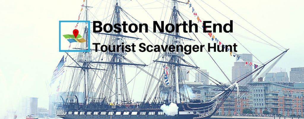 Boston North End Touristen Schnitzeljagd