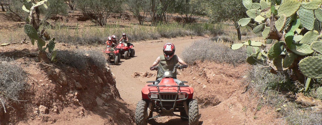 Marrakech quad adventure