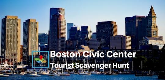 Бостон Административный Центр Туристической Мусорщик