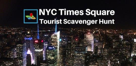 Chasse au trésor touristique dans le centre de New York