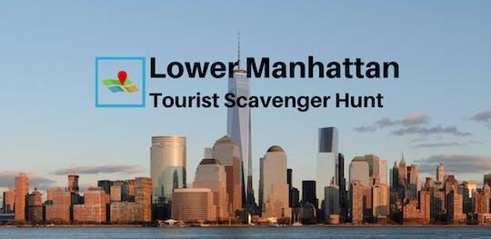 Снижения Туристического Манхэттен Мусорщик