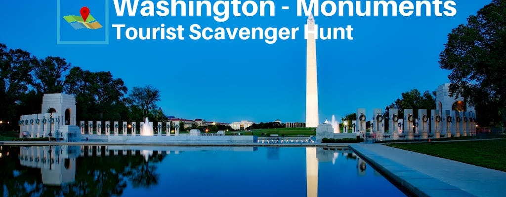 Washington Monuments Tourists Scavenger Hunt