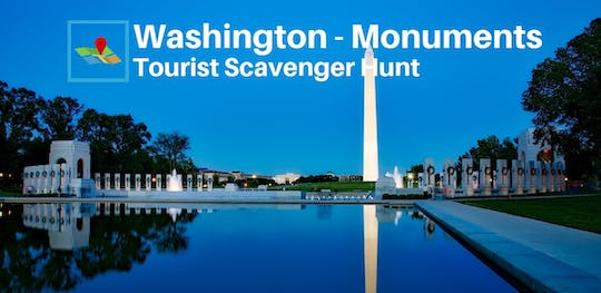 Washington monumenti Tourists Scavenger Hunt