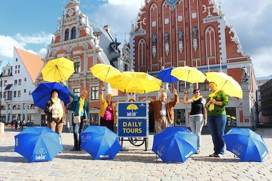 Tour guidato a piedi della città vecchia di Riga di 1 ora e 30 minuti