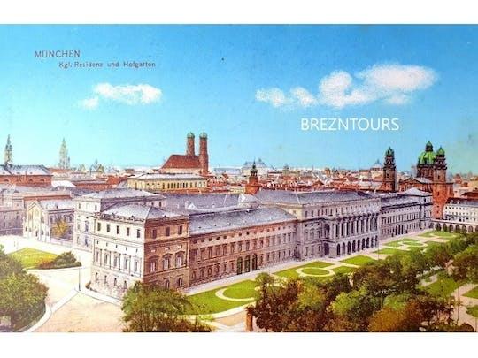Rikscha-Tour durch München mit Postkarten von 1895-1930