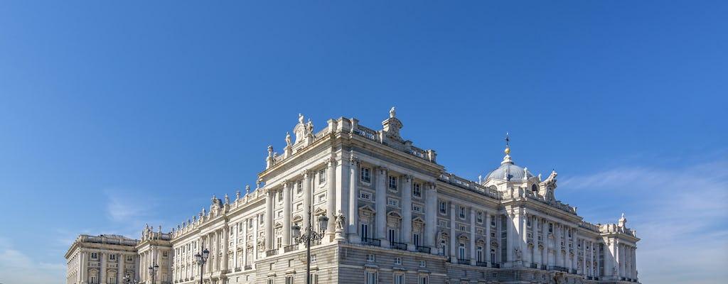 Visita guiada ao Palácio Real de Madrid