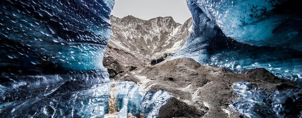 Tour giornaliero della costa meridionale e della grotta di ghiaccio di Katla