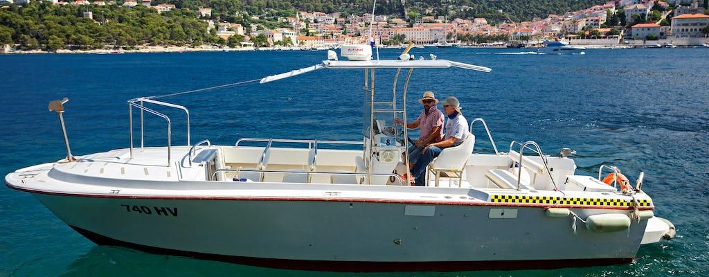 Private Schnellbootstour zur blauen und grünen Höhle von Hvar