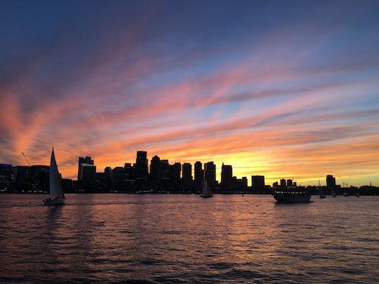 Northern Lights yacht sunset cruise in Boston
