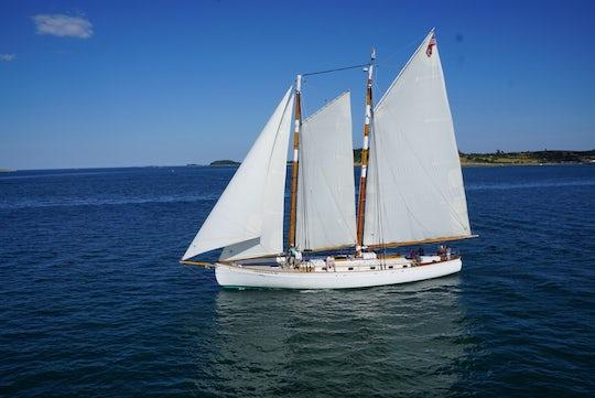 Day sail on Adirondack III in Boston