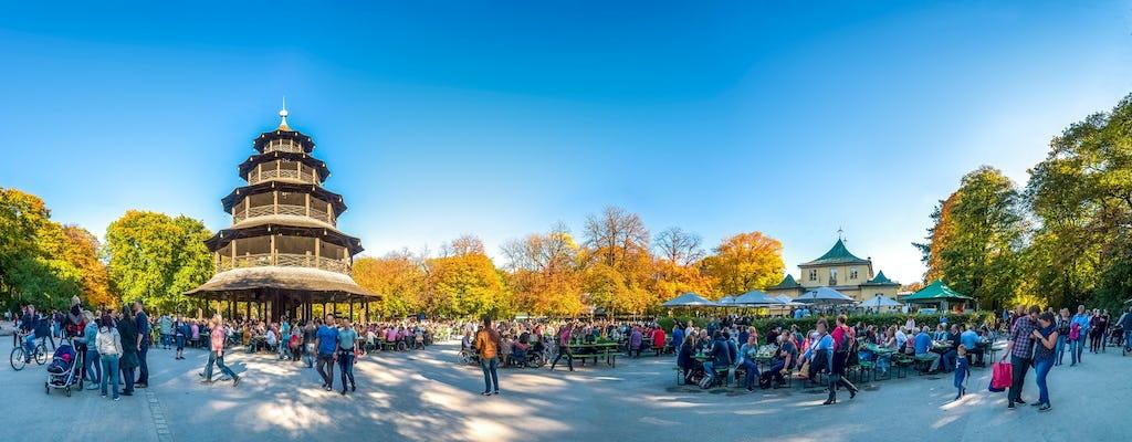 Rikscha-Tour durch den Englischen Garten in München