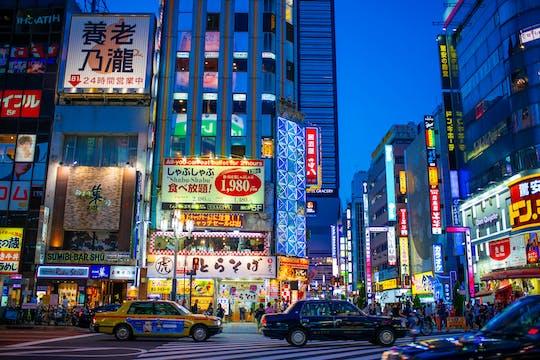 Kabukicho Izakaya Food Tour en Golden Gai Experience in Shinjuku