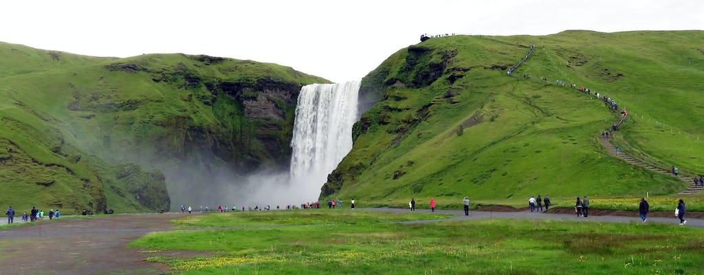 Tour privado a la costa sur y al volcán Eyjafjallajökull