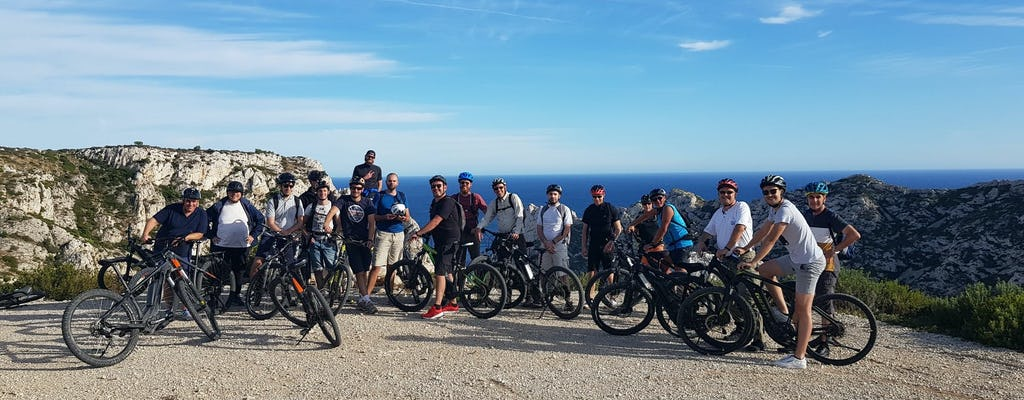 Private e-bike tour to Sormiou, Callelongue, and Morgiou