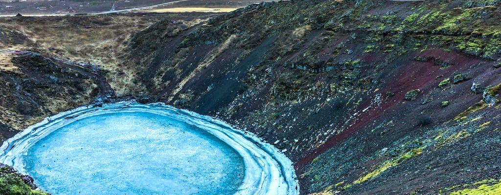 Private Tour durch isländische Vulkane