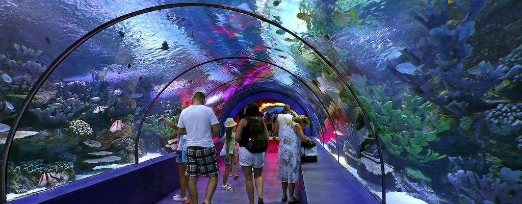 Antalya Aquarium with transfer from Side