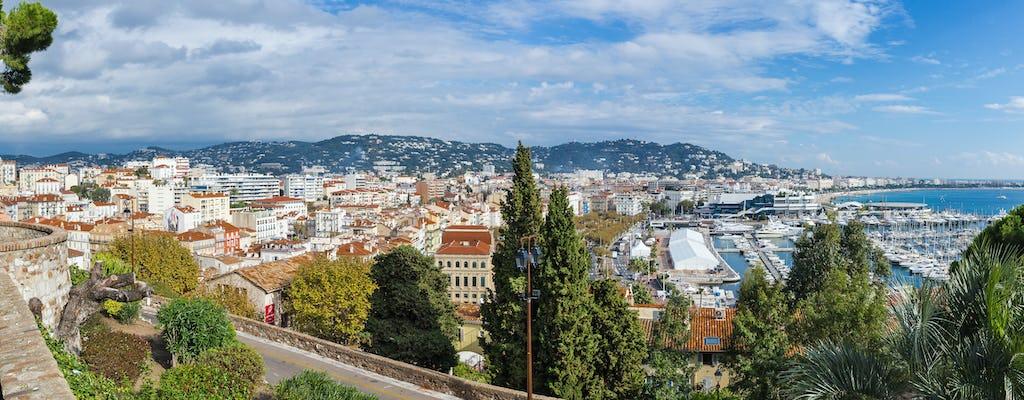 Prywatna półdniowa wycieczka do Antibes z portu w Cannes