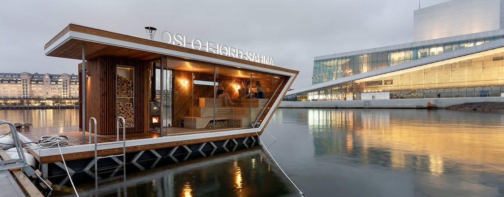Sauna du fjord d'Oslo