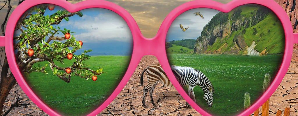 Galeria do bilhete de entrada da ilusão das Maurícias