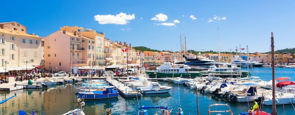 Viagem particular do porto de St Tropez para cidades vizinhas