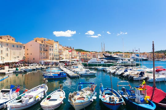 Private trip from St Tropez port to surrounding towns