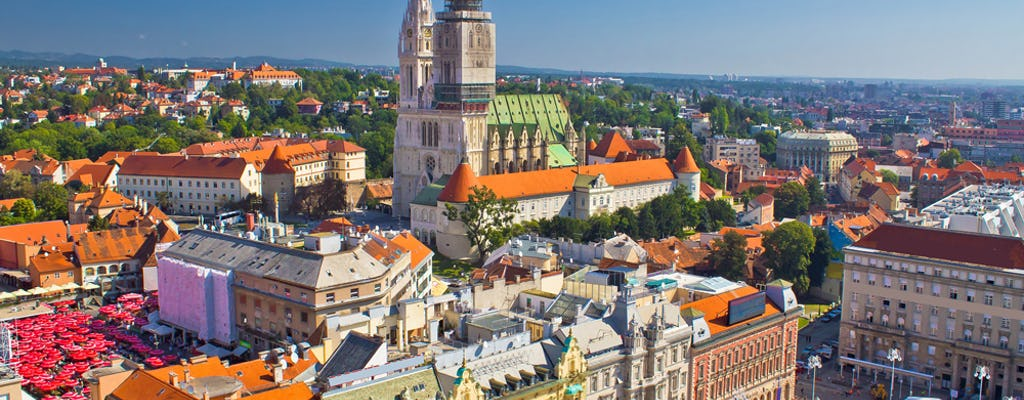 Visite guidée à pied de Zagreb