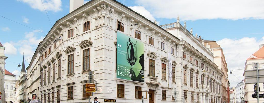 Entradas para el Teatro y la Academia de Bellas Artes de Viena.