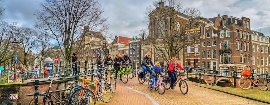 Fietstocht met gids door Amsterdam