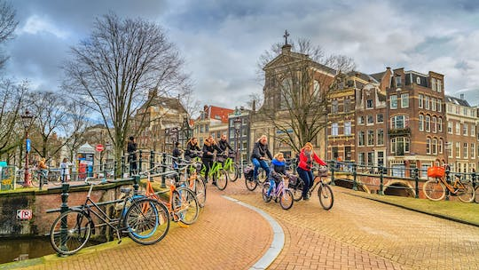 Amsterdam guided city bike tour
