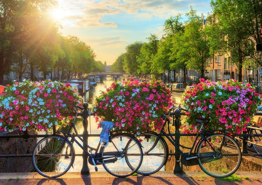 Fietstocht met gids naar de verborgen pareltjes van Amsterdam