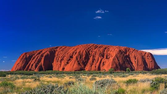 Uluru Sonnenaufgang und Lichtfeld