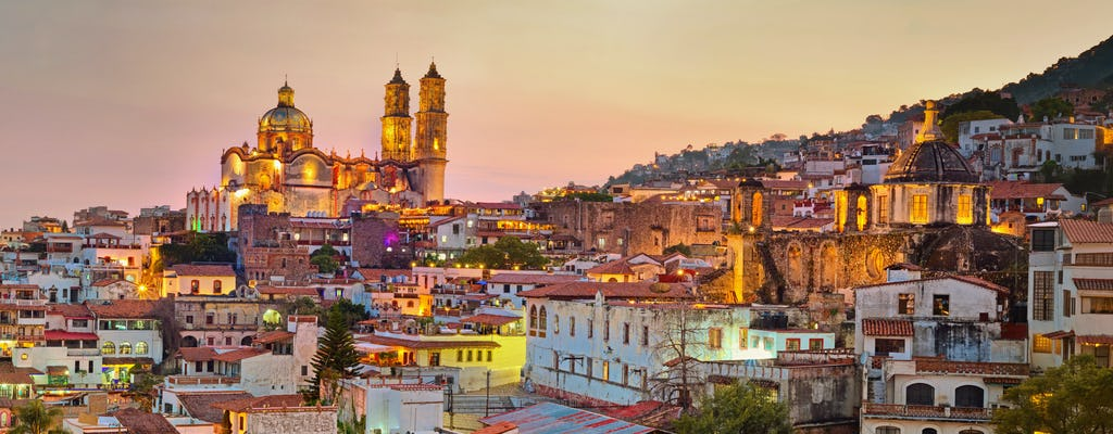 Tour privado de Taxco e Xochicalco saindo da Cidade do México