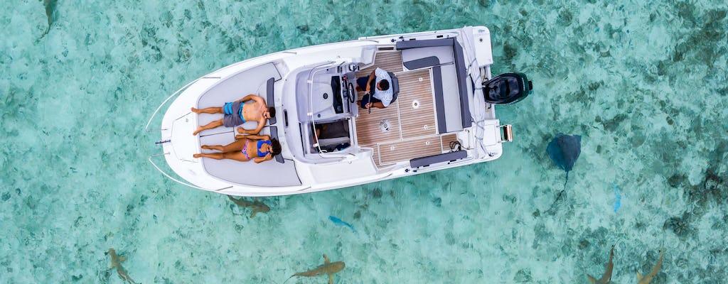 Noleggio barca privata Bora Bora Cap Camarat 25ft