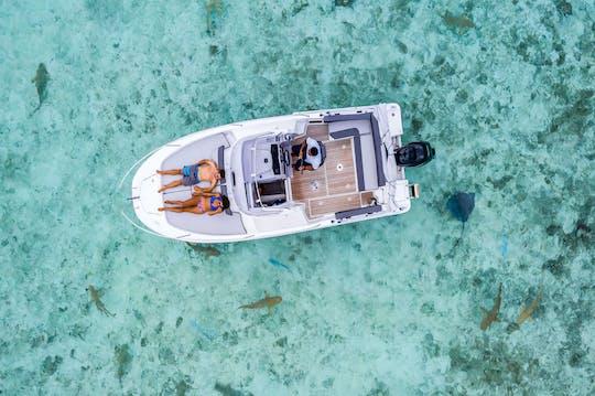 Aluguel de barco privado Bora Bora Cap Camarat