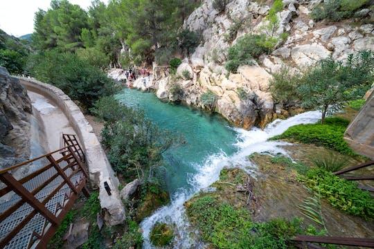 Les cascades d'Algar