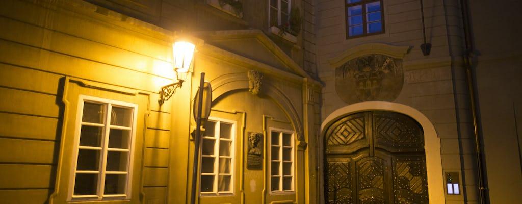Tour dei fantasmi di Praga con leggende e misteri del centro storico