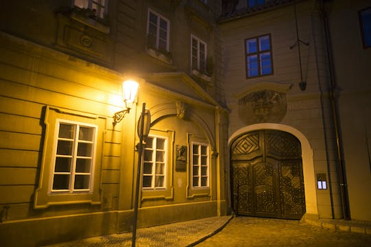 Prague ghost tour with legends and mysteries of the Old Town