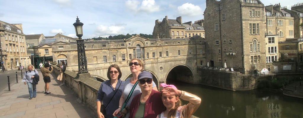 Excursión privada de un día a Bath y Lacock Village desde Londres